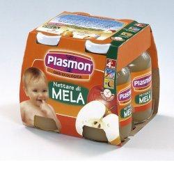 PLASMON NETTARE MELA 125MLX4PZ