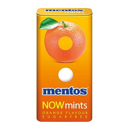 MENTOS NOWMINTS ORANGE 18G
