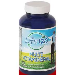 LIFE 120 MULTIVITAMINERAL45CPR