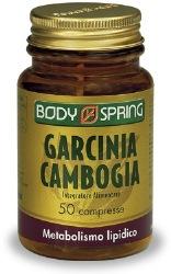 BODY SPRING GARCINIA 50 COMPRESSE