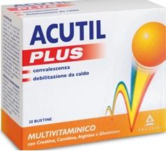 ACUTIL MULTIVITAMINICO PLUS 20 BUSTINE