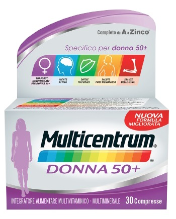 MULTICENTRUM DONNA 50+ 30 COMPRESSE