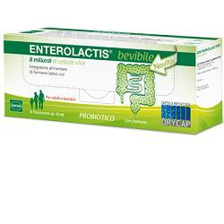 ENTEROLACTIS 6 FLACONCINI 10 ML