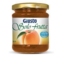 GIUSTO SOLO FRUTTA MARMELLATA ALBICOCCHE 284 G