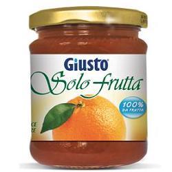 GIUSTO SOLO FRUTTA MARMELLATA ARANCE AMARE 284 G