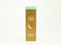 LICHTENA SOLE CREMA VISO ANTIETA' ANTIMACCHIA  SPF50 50 ML