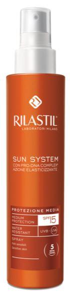 RILASTIL SUN SYSTEM PHOTO PROTECTION THERAPY SPF15 SPRAY VAPO 200 ML