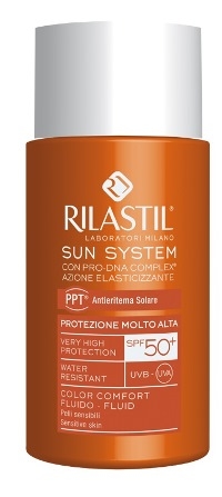 RILASTIL SUN SYSTEM PHOTO PROTECTION THERAPY SPF50+ COMFORTCOLOR 50 ML