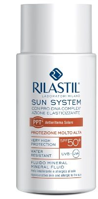RILASTIL SUN SYSTEM PHOTO PROTECTION THERAPY SPF50+ FLUIDO MINERAL 50 ML