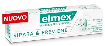 DENTIFRICIO ELMEX SENSITIVE RIPARA & PREVIENE 75 ML
