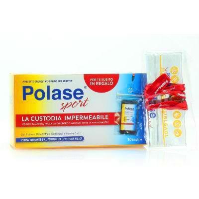 POLASE SPORT 10BUSTE + PORTACELLULARE