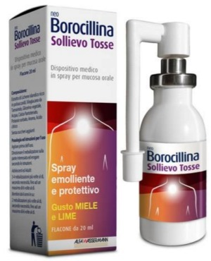 NEOBOROCILLINA SOLLIEVO TOSSE SPRAY 20 ML