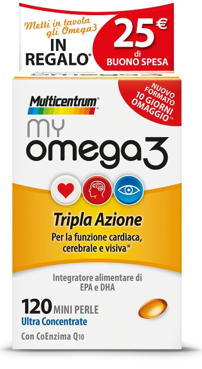 MULTICENTRUM MY OMEGA3 120 MINI PERLE PROMO