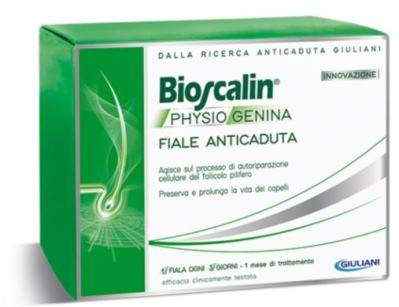 BIOSCALIN PHYSIOGENINA 10 FIALE ANTICADUTA DA 3