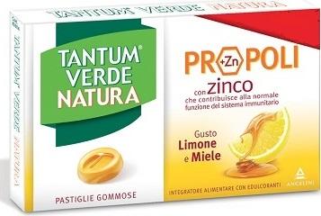 TANTUM VERDE NATURA PASTIGLIE GOMMOSE LIMONE & MIELE 30 G