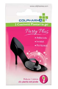 COLPHARMA PARTY PLUS CUSCINETTO PLANTARE IN GEL 2 PEZZI
