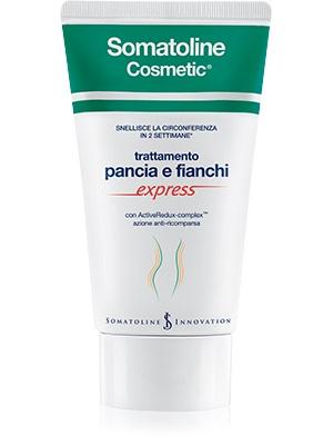 SOMATOLINE COSMETIC SNELLENTE PANCIA E FIANCHI EXPRESS 150 ML